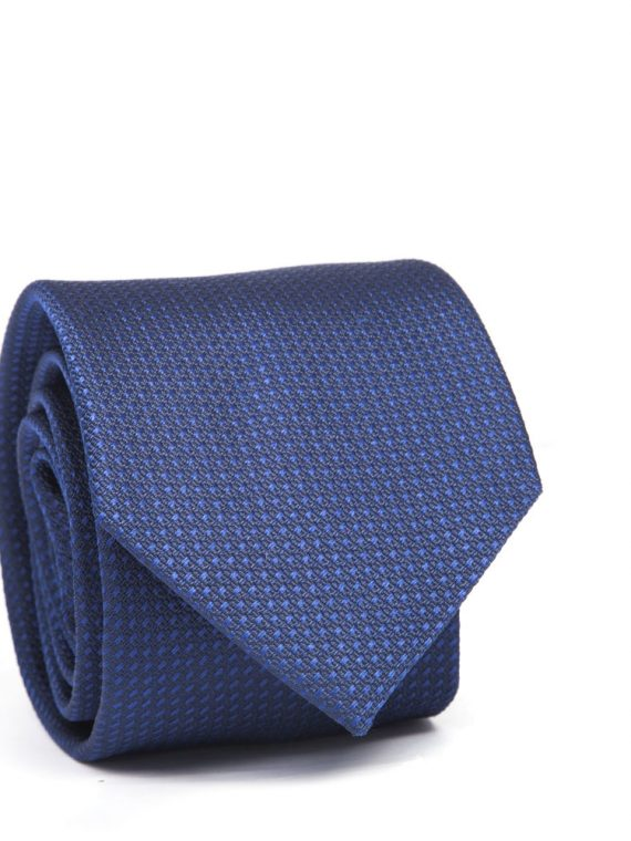 City Hall Corbata Estructura Navy Blue-0