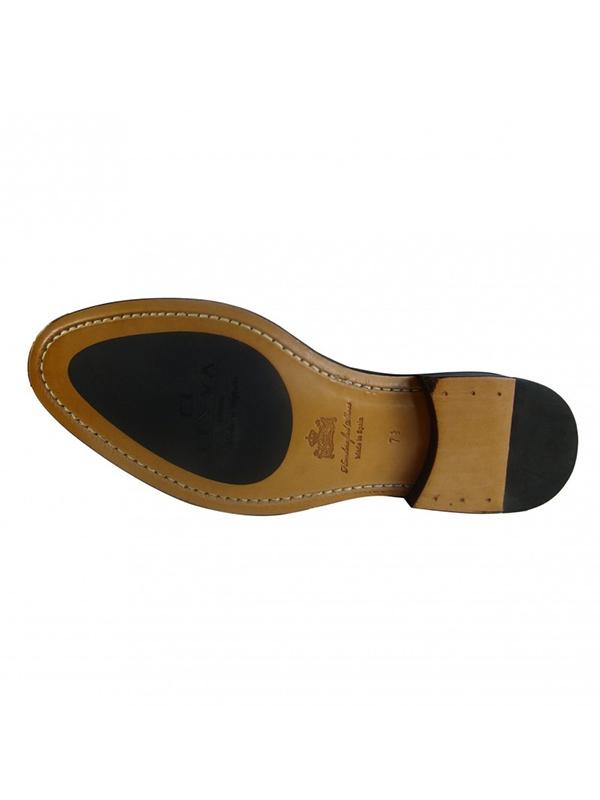 Zapato Leyva Denis novo-antic tabac-12106