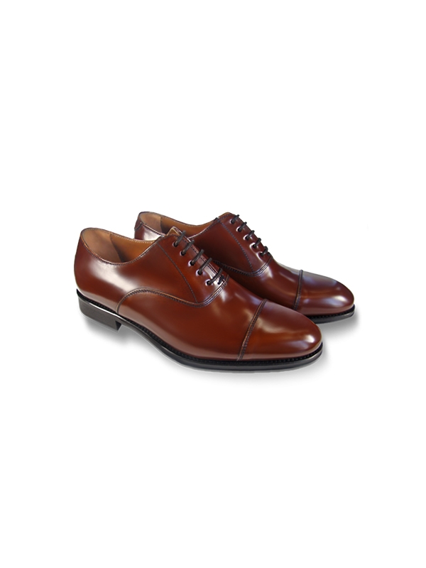Zapato Leyva Denis novo-antic tabac-12108